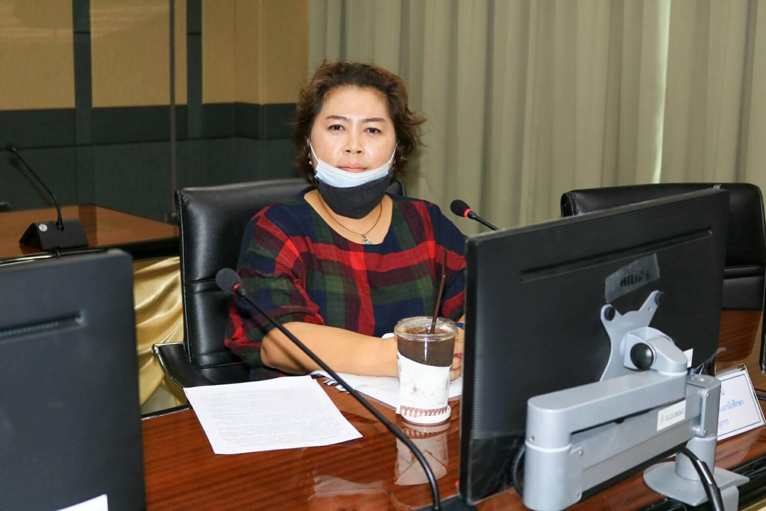 ประชุมคณะกรรมการบริหารกองทุนส่งเสริมและพัฒนากิจการนักศึกษา ครั้งที่ 3/2564